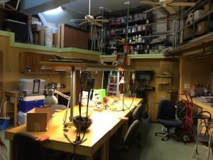 Thomas Mann's studio