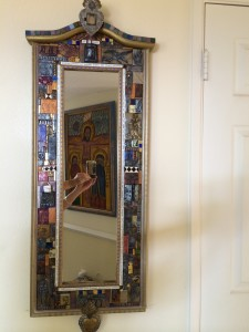 "My dad's mirror, ""The Long Goodbye"""