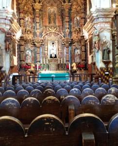 Interior San Xavier