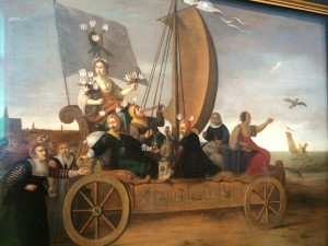 One of my favorite paintings...a Land Yacht/Ship of Fools