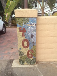 Obviously a mosaic artist lives here!