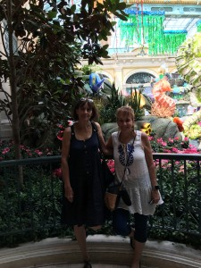 Beautiful gardens at Bellagio